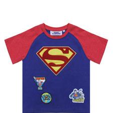 Superman Logo T-Shirt - 3-8 Years