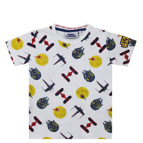 Star Wars Spaceship T-Shirt - 3-8 Years, ${color}