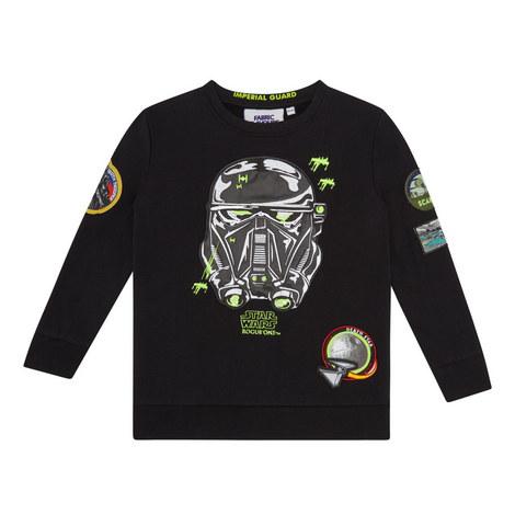 Star Wars Appliqué Sweatshirt, ${color}