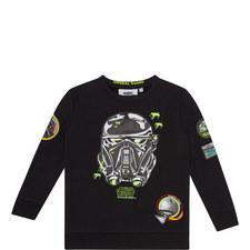 Star Wars Appliqué Sweatshirt Kids