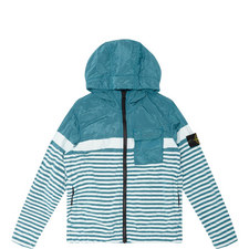 Striped Hooded Jacket Kids