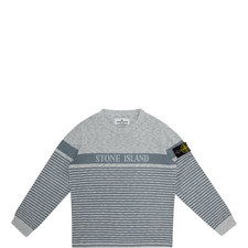Stripe Logo Sweater