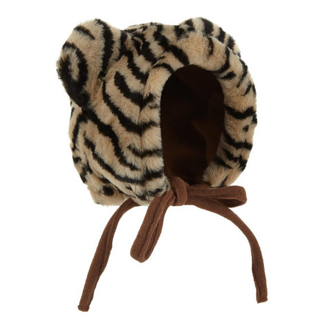 Tiger Print Bonnet Hat, ${color}