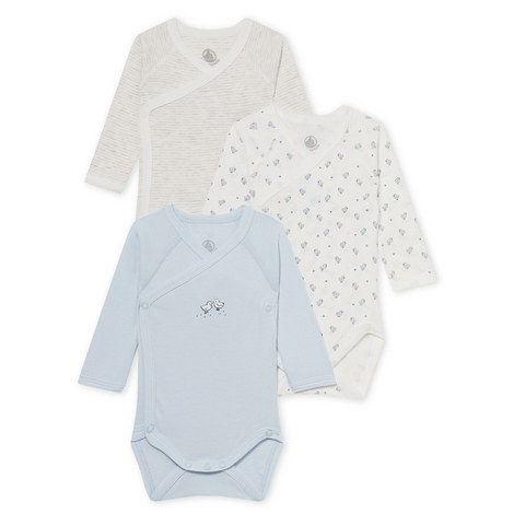 Lagoon Set of 3 Bodysuits Baby, ${color}