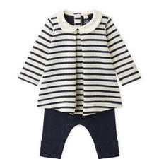 Labouro Striped Bodysuit Baby