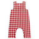 Lars Check Dungarees Baby, ${color}
