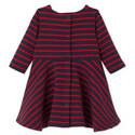 Leola Striped Dress Baby, ${color}