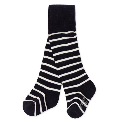 Laser Striped Knit Tights Baby, ${color}