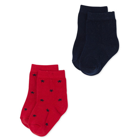 Lacoupe Set of 2 Socks Baby, ${color}