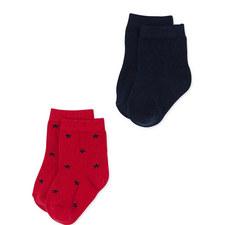 Lacoupe Set of 2 Socks Baby