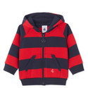 Lechalet Striped Hoodie Baby, ${color}