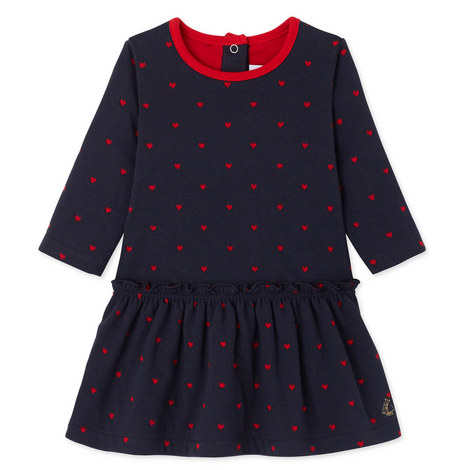Lauriane Loveheart Dress Baby, ${color}