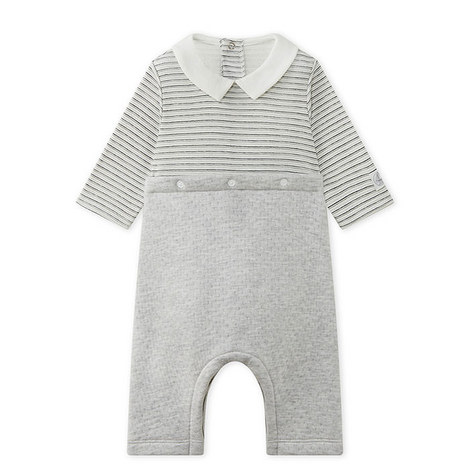 Madras Stripe Romper Baby, ${color}
