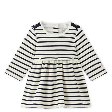 Mae Stripe Dress Baby, ${color}