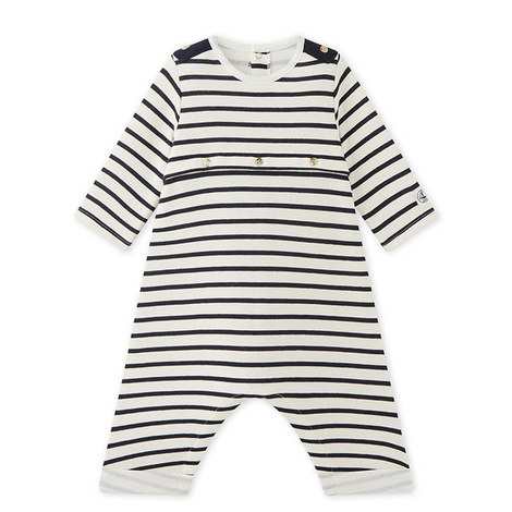 Makar Stripe Romper Baby, ${color}