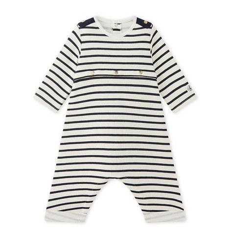 Makar Stripe Romper Baby, ${color}