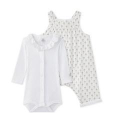 Mairie Shirt & Romper Set Baby