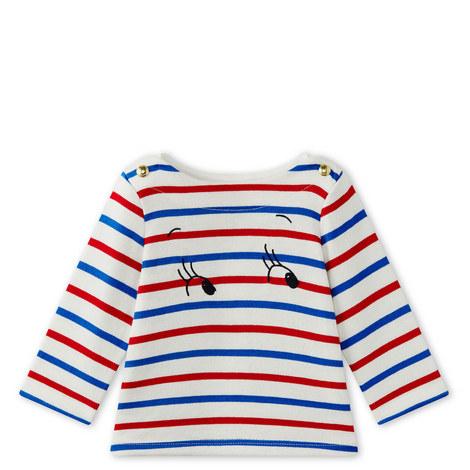 Marivone Multi Stripe Top Baby, ${color}
