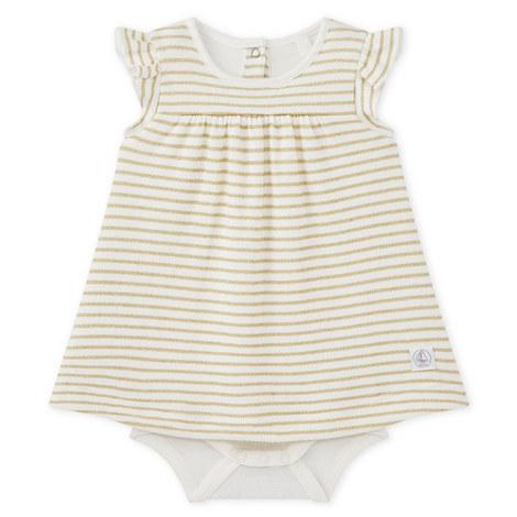 Mando Striped Babydoll Dress Baby, ${color}