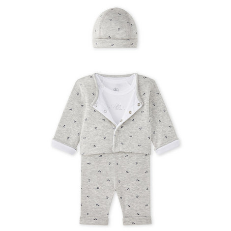 Macdan 3-Piece Sleepwear Set Baby, ${color}