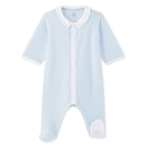 Moutarde Velour Rompersuit Baby, ${color}