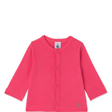 Scalloped Button Cardigan Baby