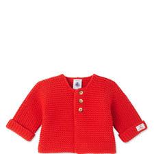 Perl Knit Cardigan Baby