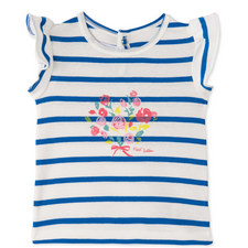 Striped Frill T-Shirt Baby