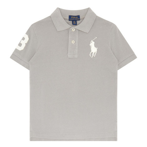 Logo Polo Shirt Kids, ${color}