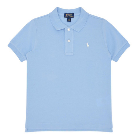 Short-Sleeved Polo Shirt Kids, ${color}