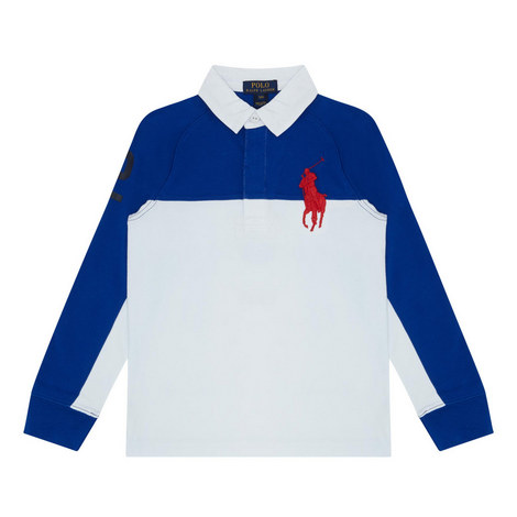 Raglan Sleeve Rugby Top Kids, ${color}
