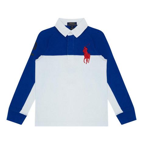 Raglan Sleeve Rugby Top Kids, ${color}