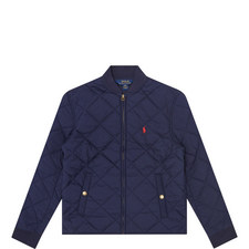 Quilted Bomber Jacket Kids