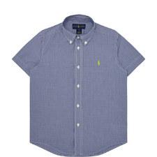 Check Pattern Shirt Kids