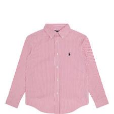 Vertical Stripe Long Sleeve Shirt