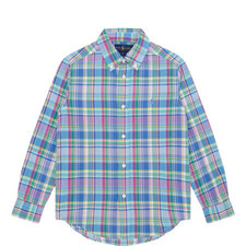 Check Print Shirt Kids