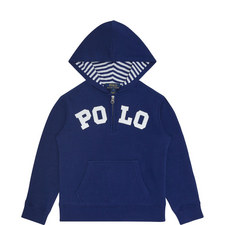 Hooded Polo Sweater Kids