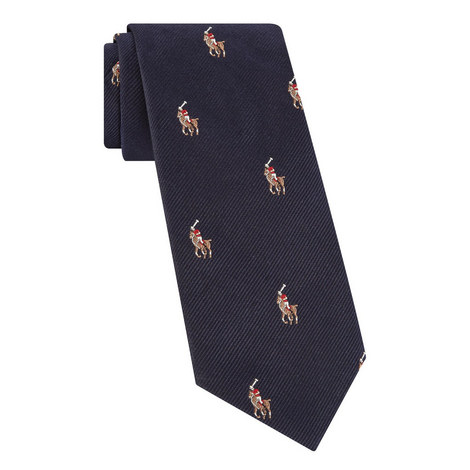 Logo Embroidered Tie, ${color}