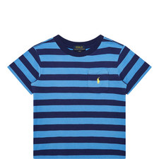 Stripe Pattern T-Shirt Kids