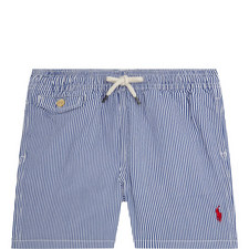 Fine Stripe Swim Shorts Kids