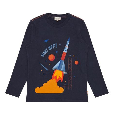 Rocket Print T-Shirt Kids, ${color}