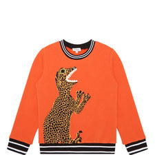 Philippus Dinosaur Sweatshirt Kids
