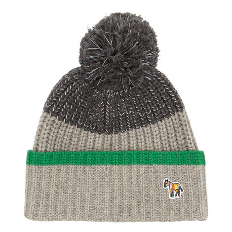 Logo Detail Bobble Hat, ${color}