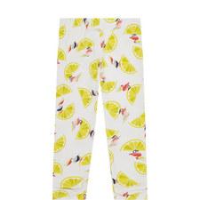Lemon Print Leggings Kids