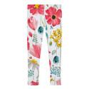 Floral Print Leggings Kids, ${color}