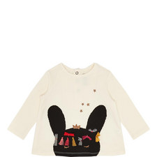 Bunny Long-Sleeved Top Baby