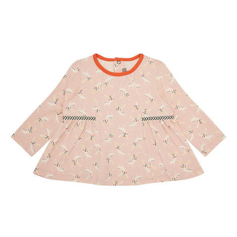 Fawn Print Top Baby, ${color}