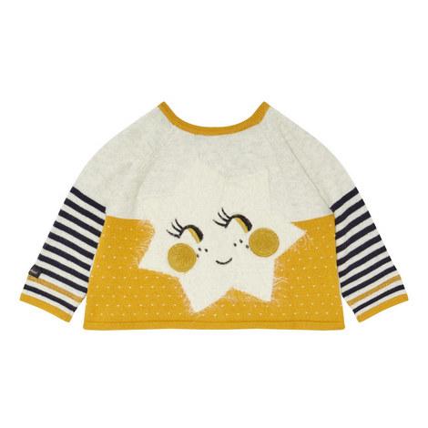 Stripe Star Cardigan Baby, ${color}