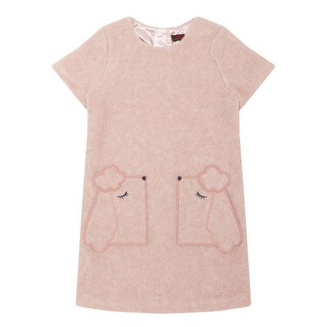 Poodle Pocket Dress Kids, ${color}