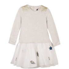 Fleece and Tulle Star Dress Teens